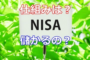 NISAって儲かるの?初心者が運用する前に仕組みを知ろう